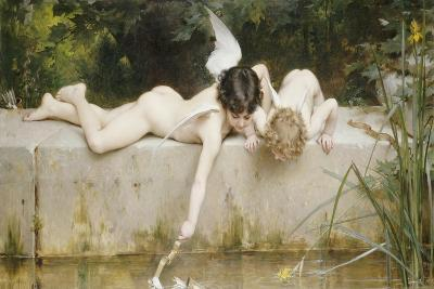 The Rescue, 1894-Emile Munier-Giclee Print