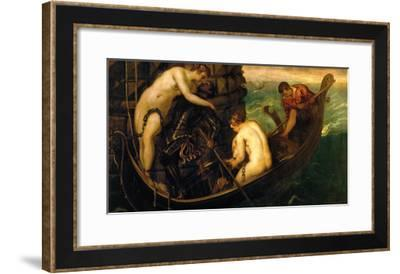 The Rescue of Princess Arsinoe-Jacopo Robusti Tintoretto-Framed Giclee Print