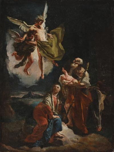 The Rest on the Flight into Egypt, C.1720-Giovanni Battista Tiepolo-Giclee Print