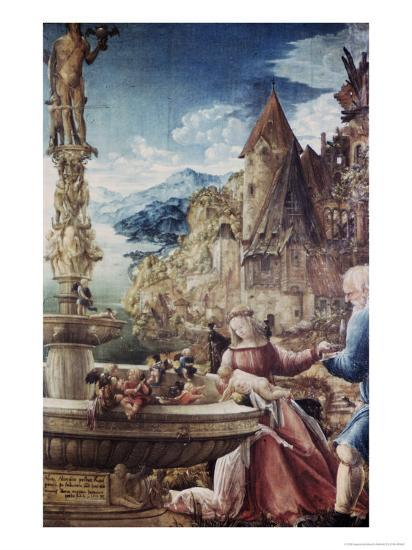 The Rest on the Flight to Egypt-Albrecht Altdorfer-Giclee Print
