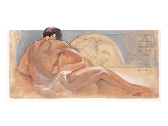the Rest-Talantbek Chekirov-Art Print