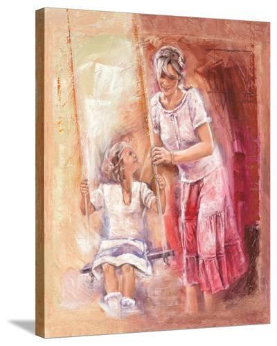 the Rest-Talantbek Chekirov-Stretched Canvas Print