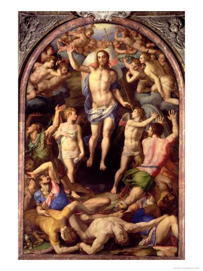 The Resurrection, 1550-Agnolo Bronzino-Giclee Print