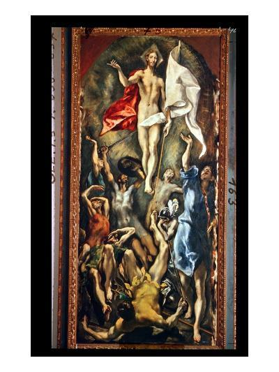 The Resurrection, 1584-94-El Greco-Giclee Print