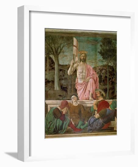 The Resurrection, circa 1463-Piero della Francesca-Framed Giclee Print