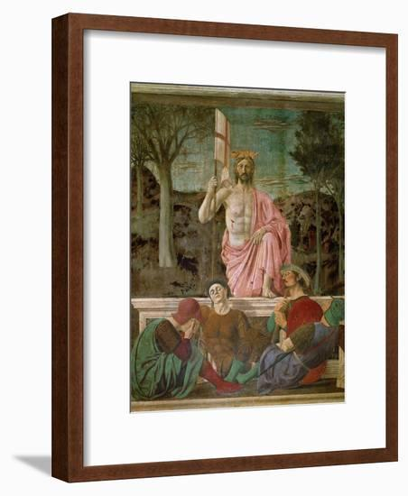 The Resurrection, circa 1463-Piero della Francesca-Framed Giclee Print