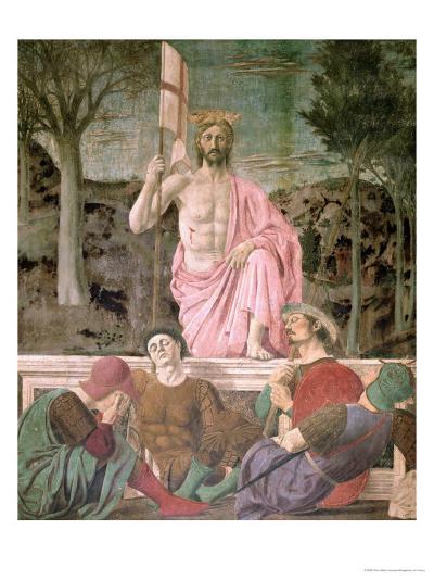 The Resurrection, circa 1463-Piero della Francesca-Giclee Print