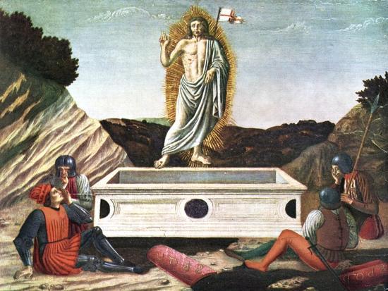 The Resurrection, Mid 15th Century-Andrea Del Castagno-Giclee Print