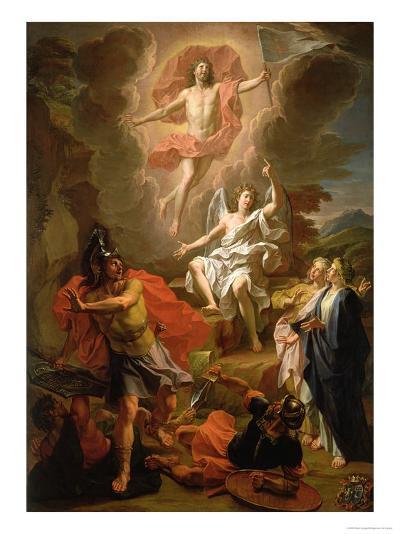 The Resurrection of Christ, 1700-Noel Coypel-Giclee Print