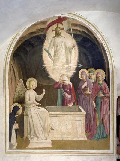 The Resurrection of Christ and the Pious Women at the Sepulchre, 1442-Fra Angelico-Giclee Print