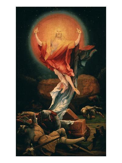 The Resurrection of Christ, from the Isenheim Altarpiece, C.1515 (Detail)-Matthias Gr?newald-Giclee Print