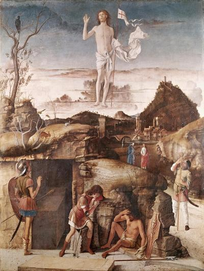 The Resurrection of Christ-Giovanni Bellini-Giclee Print
