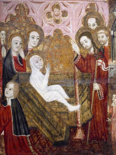 The Resurrection, Retablo of the Life of St Lazarus--Giclee Print