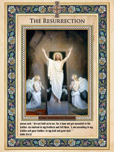The Resurrection-Carl Bloch-Giclee Print