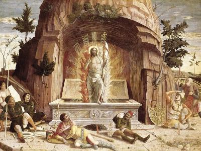 The Resurrection-Andrea Mantegna-Art Print
