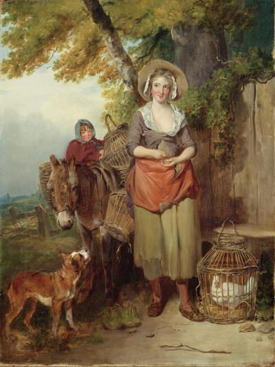 The Return from Market, 1786-Francis Wheatley-Giclee Print