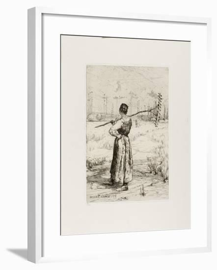 The Return from the Field, 1878-Jules Bastien-Lepage-Framed Giclee Print