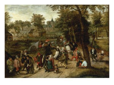 The Return from the Kermesse-Pieter Breugel the Elder-Giclee Print