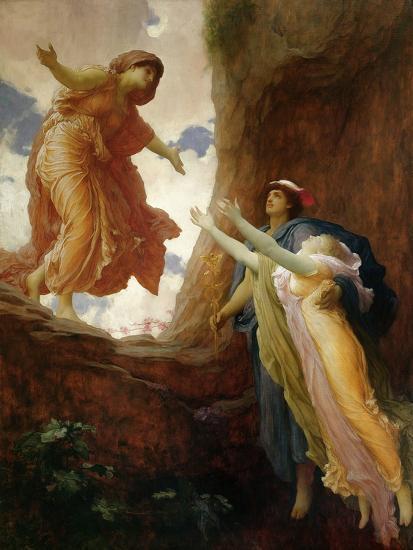 The Return of Persephone, C.1891-Frederick Leighton-Giclee Print