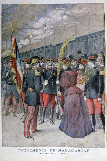 The Return of the 200 Regiment from Madagascar, 1896-Henri Meyer-Giclee Print