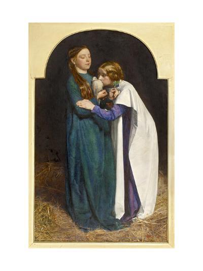 The Return of the Dove to the Ark, 1851-John Everett Millais-Giclee Print
