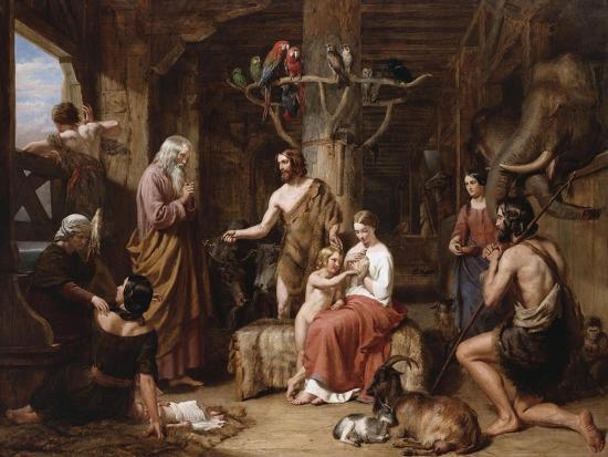 The Return of the Dove to the Ark-Charles Landseer-Giclee Print