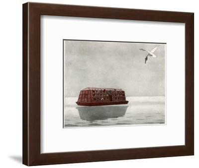 The Return of the Dove-AE Marty-Framed Giclee Print