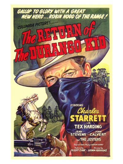 The Return of the Durango Kid, 1945--Art Print