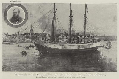 The Return of the Fram with Captain Sverdrup's Arctic Expedition-Joseph Holland Tringham-Giclee Print