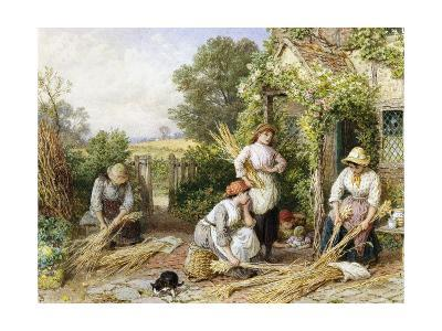 The Return of the Gleaners-Myles Birket Foster-Giclee Print