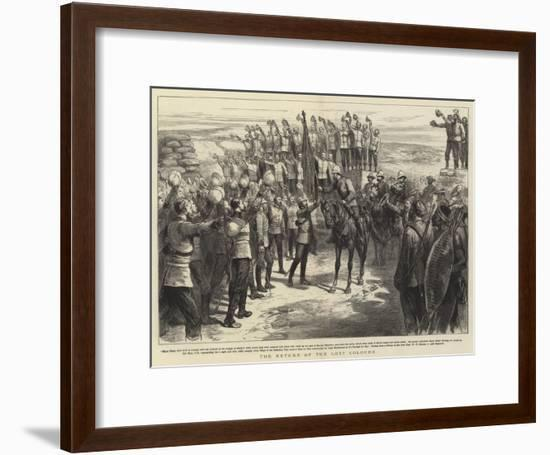 The Return of the Lost Colours--Framed Giclee Print
