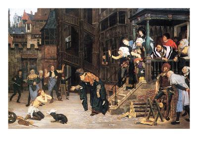 The Return of the Prodigal Son-James Tissot-Art Print