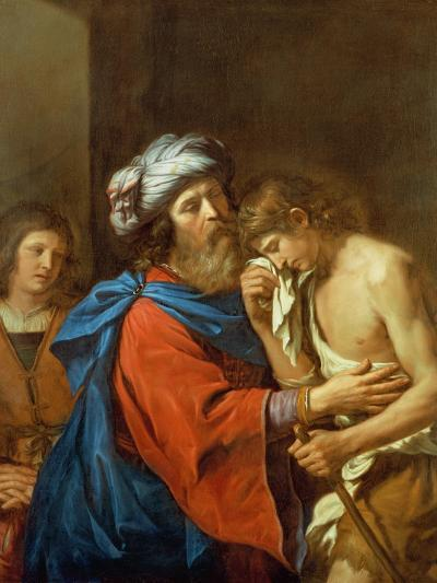 The Return of the Prodigal Son-Guercino (Giovanni Francesco Barbieri)-Giclee Print
