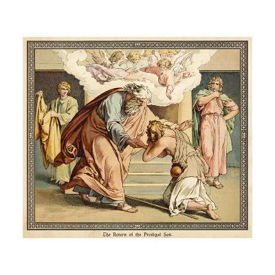 The Return of the Prodigal Son--Giclee Print