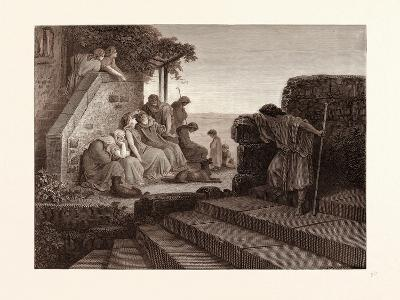 The Return of the Prodigal Son-Gustave Dore-Giclee Print