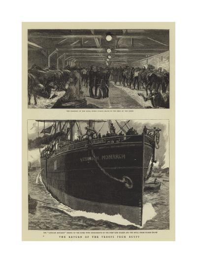 The Return of the Troops from Egypt-William Lionel Wyllie-Giclee Print