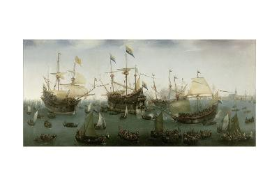 The Return to Amsterdam of the Second Expedition to the East Indies, 1599-Hendrick Cornelisz^ Vroom-Giclee Print