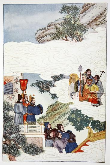 'The Return to China', 1922-Unknown-Giclee Print