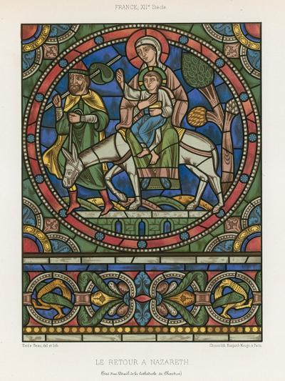 The Return to Nazareth--Giclee Print