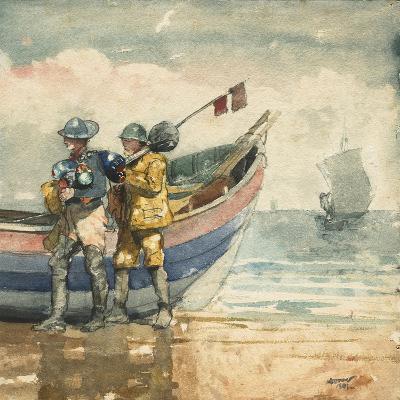 The Return, Tynemouth, 1881-Winslow Homer-Giclee Print