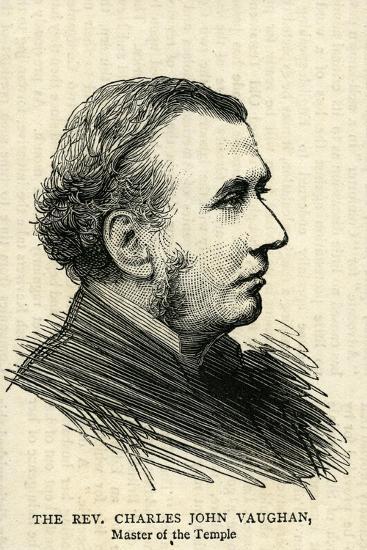 The Rev.Charles John Vaughan, the Dean of Llandaff--Giclee Print