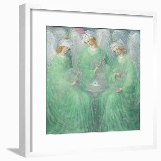 The Revelations of Spring , left panel-Annael Anelia Pavlova-Framed Giclee Print