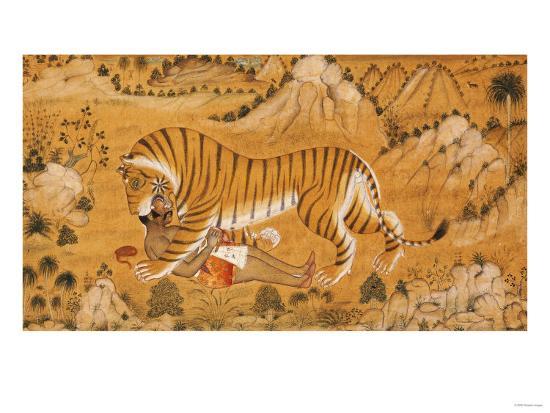 The Revenge of the Hunted Devgarh, circa 1780--Giclee Print