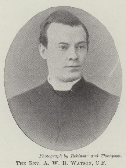 The Reverend A W B Watson--Giclee Print