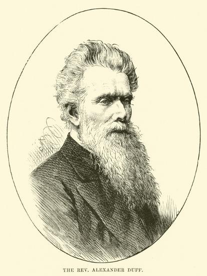 The Reverend Alexander Duff--Giclee Print