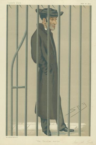 The Reverend Arthur Tooth, the Christian Martyr, 10 February 1877, Vanity Fair Cartoon-Sir Leslie Ward-Giclee Print