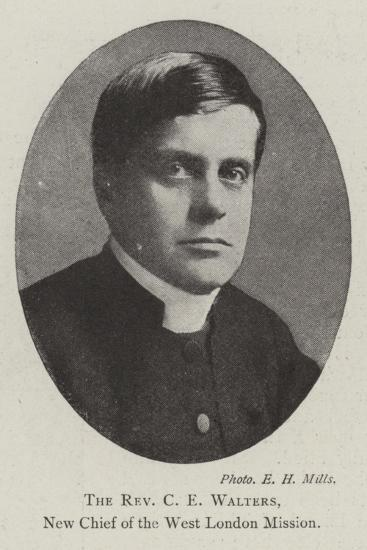 The Reverend C E Walters, New Chief of the West London Mission--Giclee Print