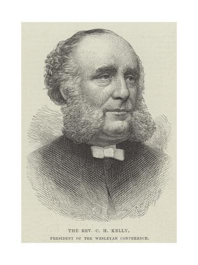 The Reverend C H Kelly, President of the Wesleyan Conference--Giclee Print