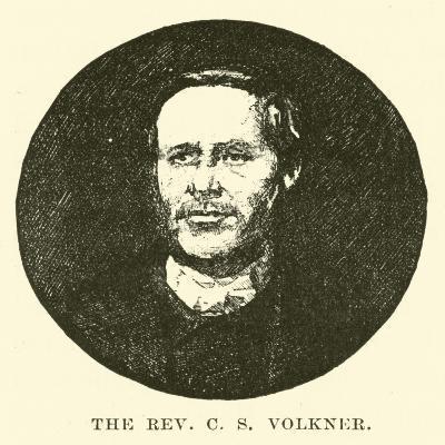 The Reverend C S Volkner--Giclee Print