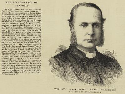 The Reverend Canon Ernest Roland Wilberforce--Giclee Print